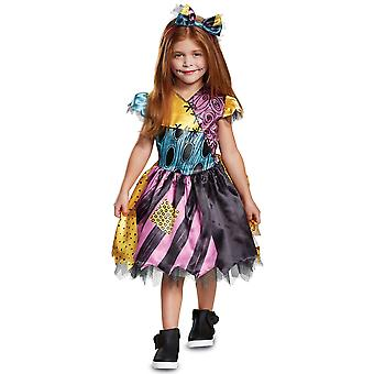 Sally Disney Nightmare før jul Ragdoll pjokk jenter kostyme 12M-18M