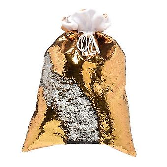 Christmas Shop 70cm Reversible Sequin Xmas Sack