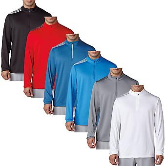 Adidas Golf mens 3-Stripes Franse Terry Pullover