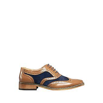 Roamers poikien 5 silmä reikäkoristeinen kävelykenkä Oxford kengät