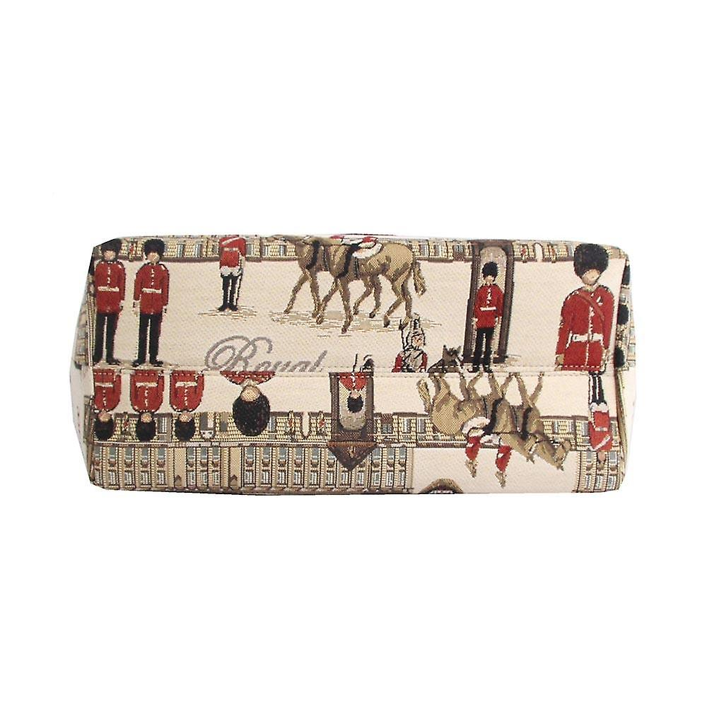 Royal guard shoulder tote bag by signare tapestry / coll-rgd