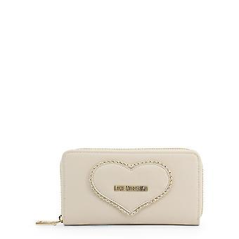 Amor moschino mujeres's cartera - jc5639pp08kg, blanco