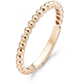 Ring Blush 11059RGO - Ring gold pink balls 2mm Women