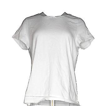 C. Wonder Women's Top Essentials Slub Knit T-shirt White A289698