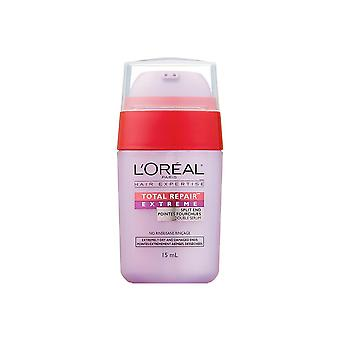 L'Oreal Paris Hair Expertise Total Repair Extreme Double Serum, For Split Ends, 15ml