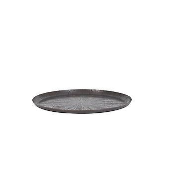 Light & Living Dish 39x2cm Mieco Star Bronze