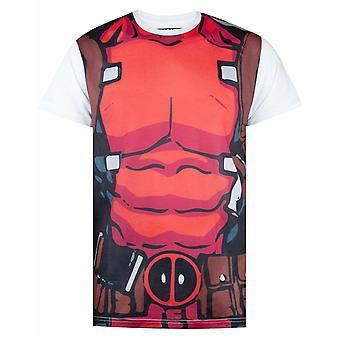 Marvel Deadpool Costume T-Shirt