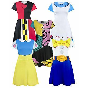Disney Leketøy Historie Snø Hvit Alice I Eventyrland Sally Ragdoll Kostyme Kjoler