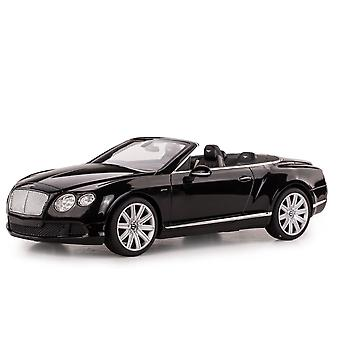 Licensed RC 1:12 Bentley Continental GT Convertible Remote Control Car Toy Black