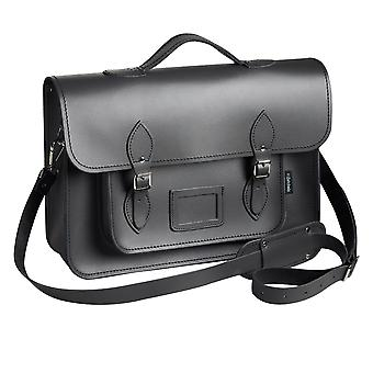 Zatchels Mens Hand-Crafted Leather Satchel With Backpack Straps (British Made)