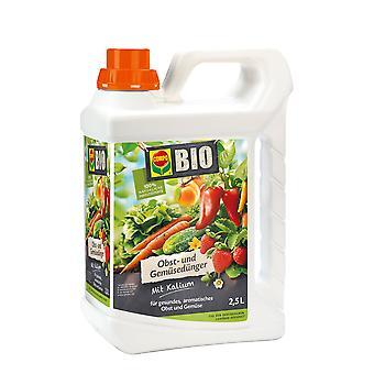 COMPO ORGANIC engrais de fruits et légumes, 2,5 litres