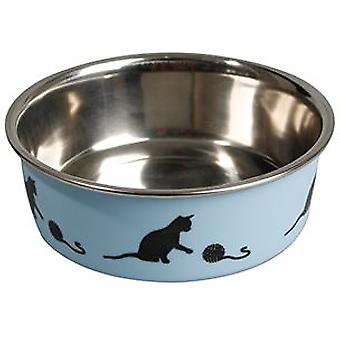 Karlie פלמינגו בלה כחול ממזין חתול Inox