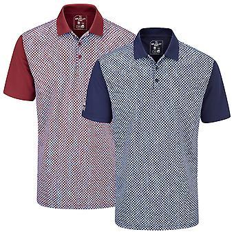 Stuburt Golf Mens 2020 Chartsworth Wicking Breathable Golf Polo Shirt