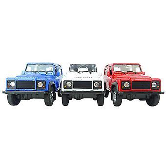 Die Cast modelo Land Rover Defender juguete coche