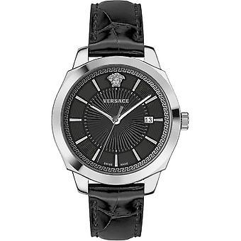 Versace ranne kello miesten ikoni klassinen kvartsi päivä määrä VEV900119