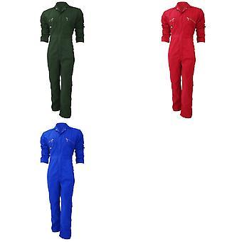 Dickies Redhawk Zip Ön Tulum Tüm Uzun / Erkek İş Kıyafetleri (2'li Paket)