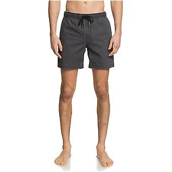 Quiksilver Taxer Elasticated Shorts in Black