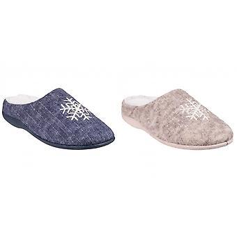 Flota y acogida para mujeres/zapatillas zapatillas de mula de Metz