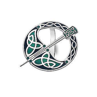 Celtic Tara Enamel Scarf Ring - Gift Boxed