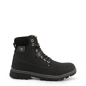 Carrera जींस मूल पुरुषों पतन/शीतकालीन टखने बूट-काले रंग ३५७४५