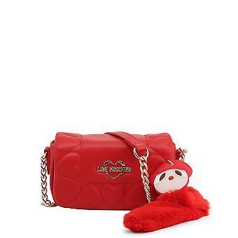 Love Moschino Original Women Fall/Winter Crossbody Bag - Red Color 37119