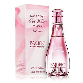 Davidoff Cool Water Woman Sea Rose Pacific Summer Edition Eau de Toilette Spray 100ml