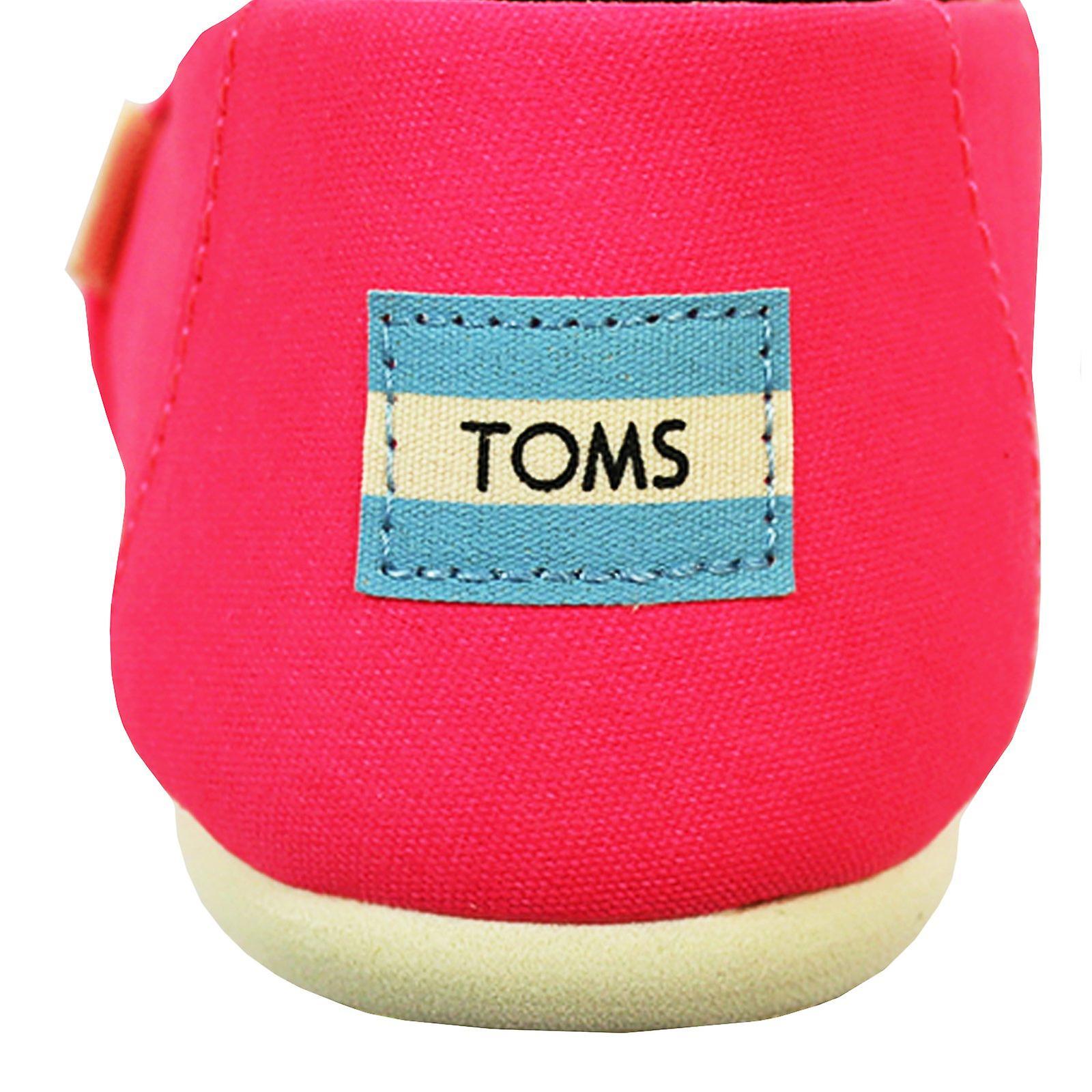 Toms women's neon roze klassieke levendige canvas schoenen Yeggzh