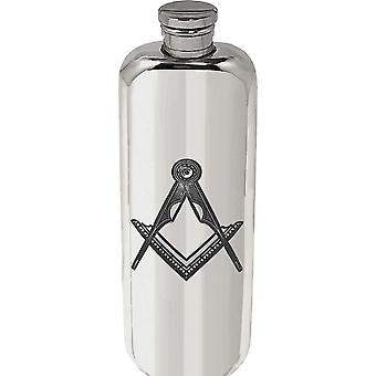 3oz Top Pocket Masonic Flask