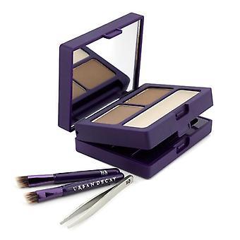 Brow Box: Augenbrauenpulver + Wachs + Werkzeuge HonigTopf 6pcs