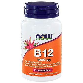 B12 1000 g (100 kauwtabs) - JETZT Lebensmittel