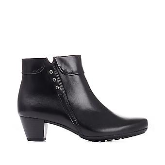 Gabor Womens Heeled Leather Ankle Boot