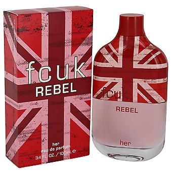 FCUK Rebel For Her Eau De Toilette 100ml Spray