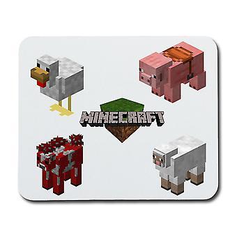 Minecraft Haustiere Maus Pad