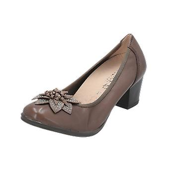 Caprice N/A Women's Pumps Brown High Heels Stilettos Heel Shoes