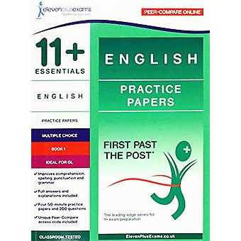 11+ Essentials English Practice Papers Book 1 - 9781912364008 Book