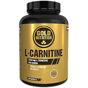 Gold Nutrition L-Carnitine 750 mg 60 Capsules