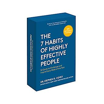 The 7 Habits of Highly Effective People - 30th Anniversary Card Deck b