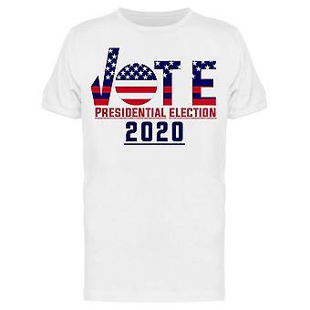 Élection de vote 2020 Tee Men-apos;s -Image par Shutterstock