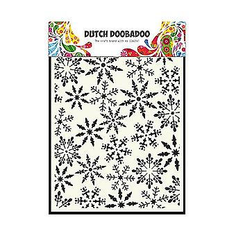 الهولندية Doobadoo A5 قناع الفن ستينسيل - نجوم الجليد #5030