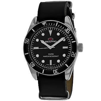 Reloj de marcación negra Seapro Men's Revival - SP0302