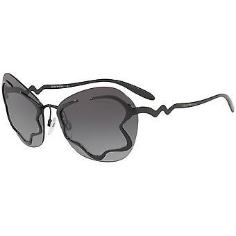 Emporio أرماني EA2060 3014/8G الأسود / الرمادي التدرج النظارات الشمسية