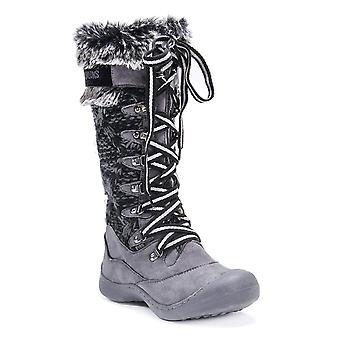 MUK LUKS Women's Womn's Gwen Snowboots-Grey Rain Shoe