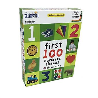 Briarpatch first 100 numbers and shapes Bingo Game