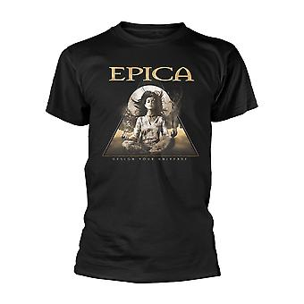 Epica Design Your Universe Official Tee T-Shirt Mens Unisex
