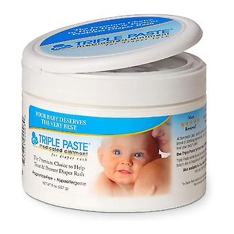 Triple paste medicated ointment, 8 oz