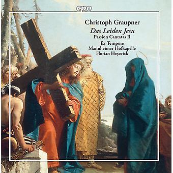 Graupner / Worner - Passion Cantatas 2 [CD] USA import