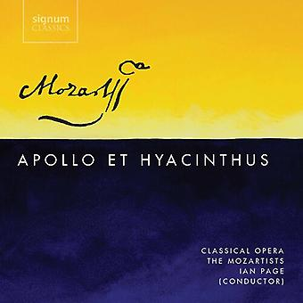 Apollo Et Hyacinthus [CD] USA import
