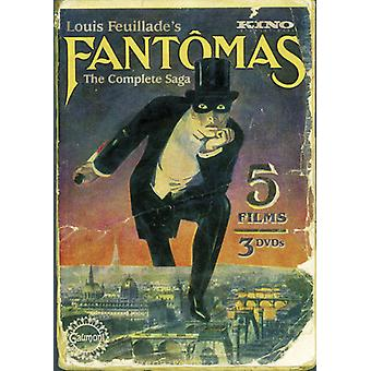 Fantomas: Five Film Collection [DVD] USA import