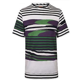 MISSONI Mare Patchwork Striped White T-Shirt