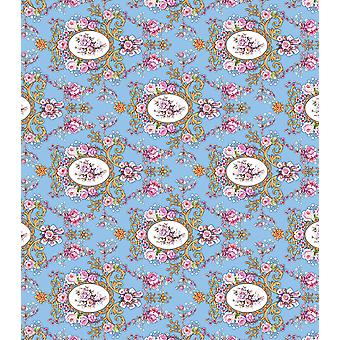 "Craft Consortium Decoupage Papers 13.75""X15.75"" 3/Pkg-Ornate Bloom"